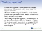 what is new system wide