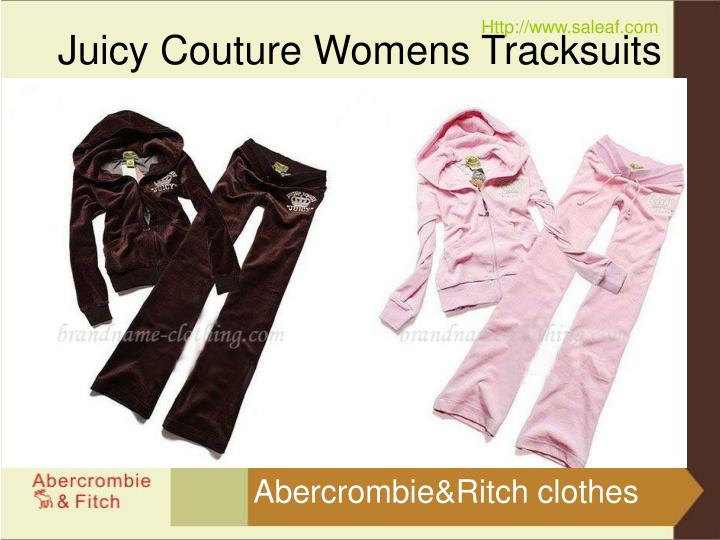 Juicy couture womens tracksuits2