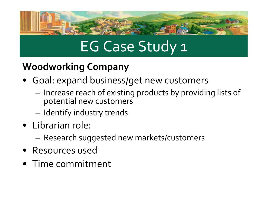 EG Case Study 1