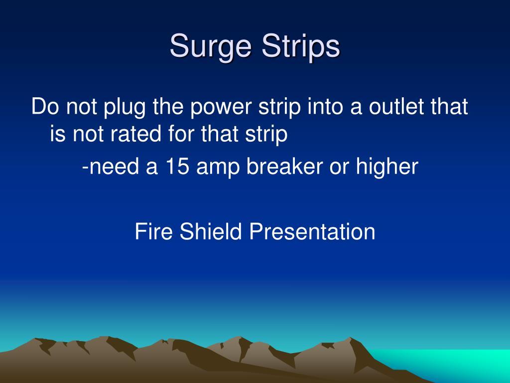 Surge Strips