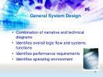 general system design39