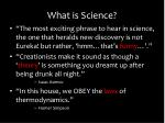 what is science8