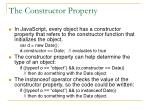 the constructor property