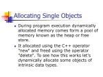 allocating single objects