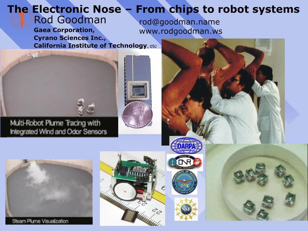the electronic nose from chips to robot systems l.