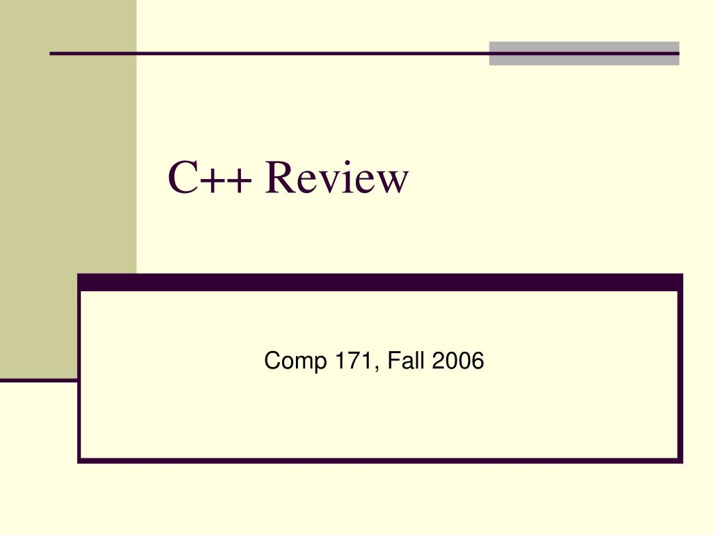 c review l.