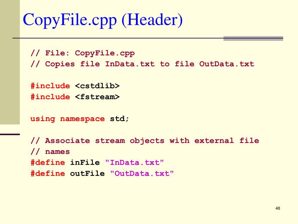 CopyFile.cpp (Header)