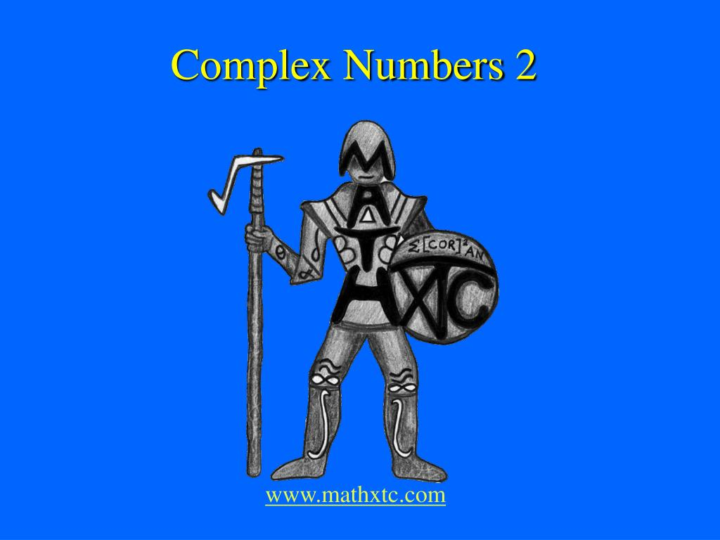 complex numbers 2 l.