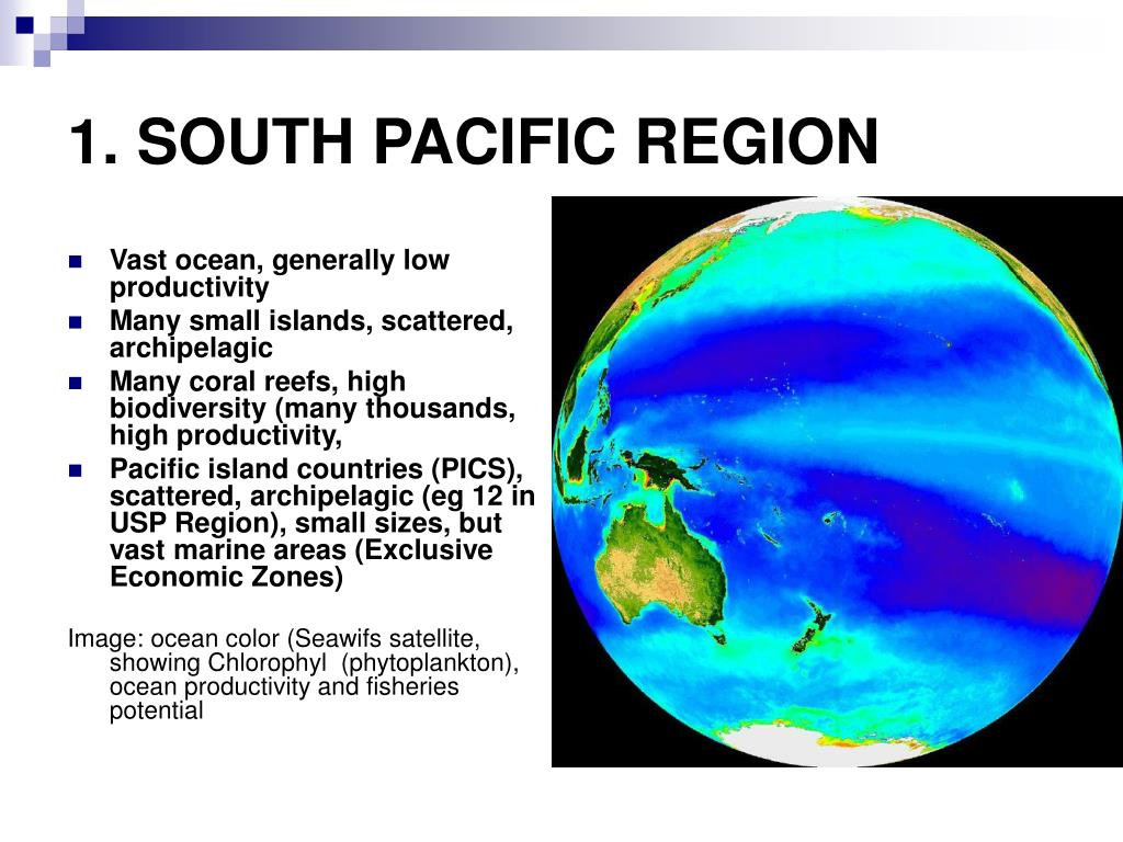 1. SOUTH PACIFIC REGION