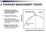 4 fisheries management theory