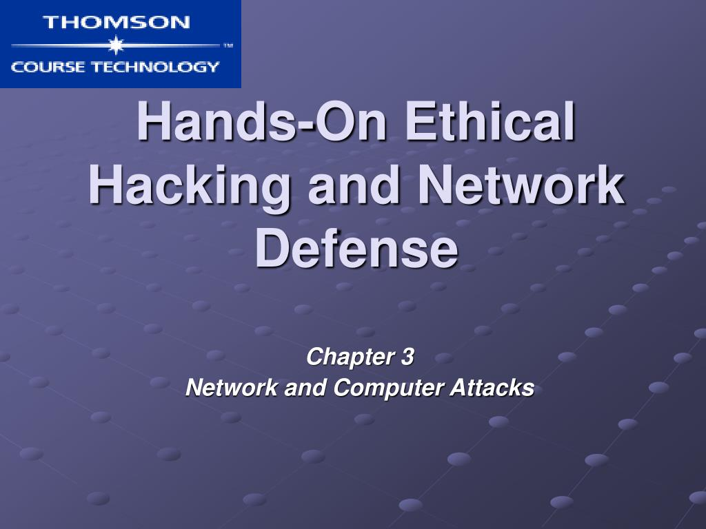 hands on ethical hacking and network defense l.