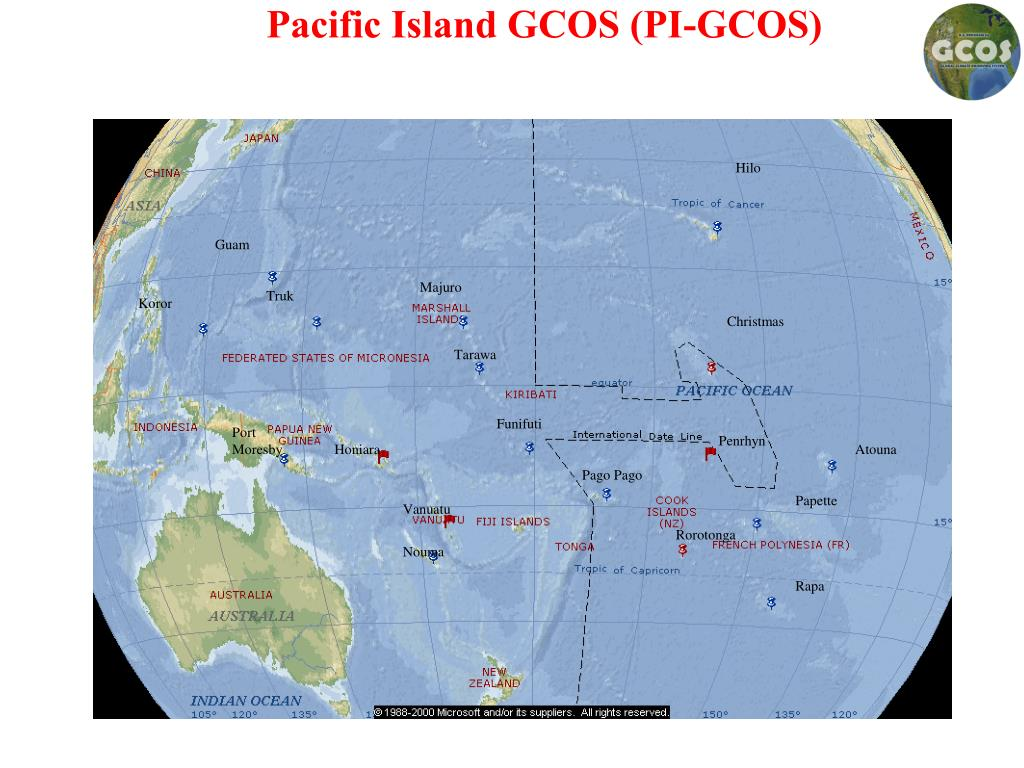 Pacific Island GCOS (PI-GCOS)