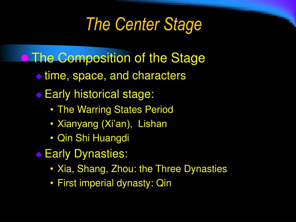 The Center Stage