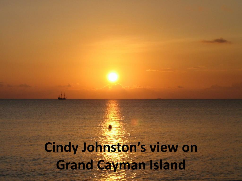 Cindy Johnston's view on