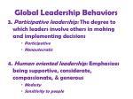 global leadership behaviors33