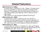 related publications64