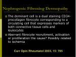 nephrogenic fibrosing dermopathy16