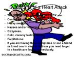 symptoms of a heart attack