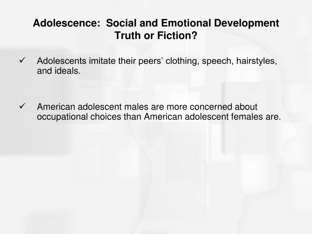 Ppt - Adolescence Social And Emotional Development -3661