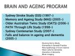brain and ageing program18