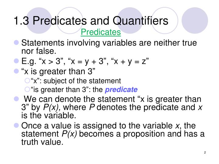 1 3 predicates and quantifiers