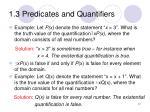 1 3 predicates and quantifiers10