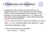 1 3 predicates and quantifiers7