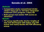 sonoda et al 2004