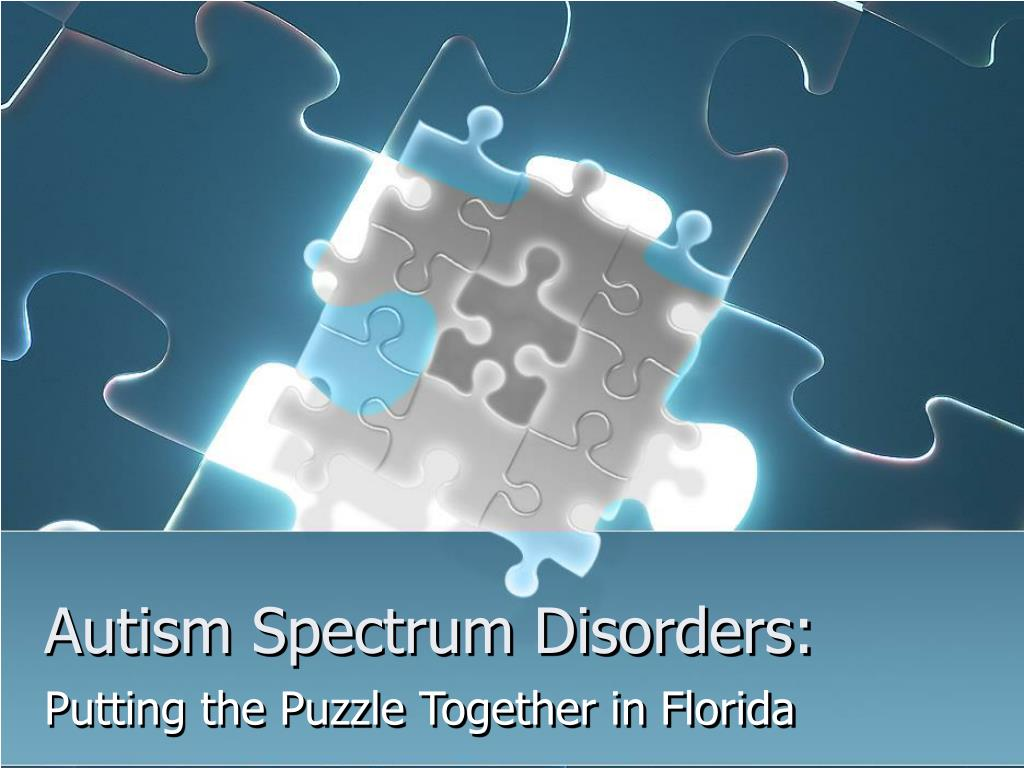 autism spectrum disorders l.