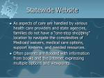 statewide website