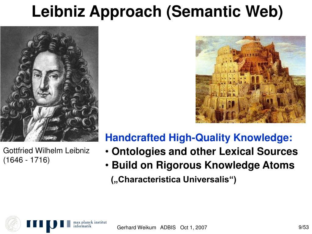 Leibniz Approach (Semantic Web)