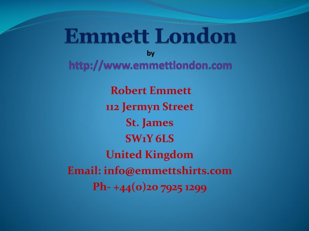 emmett london by http www emmettlondon com l.