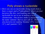 polly shows a nucleotide1