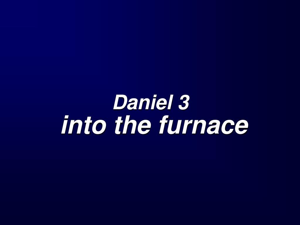 Daniel 3