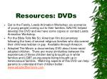 resources dvds
