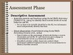 assessment phase