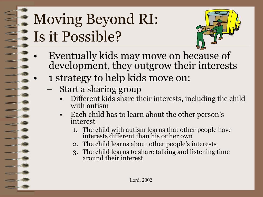 Moving Beyond RI: