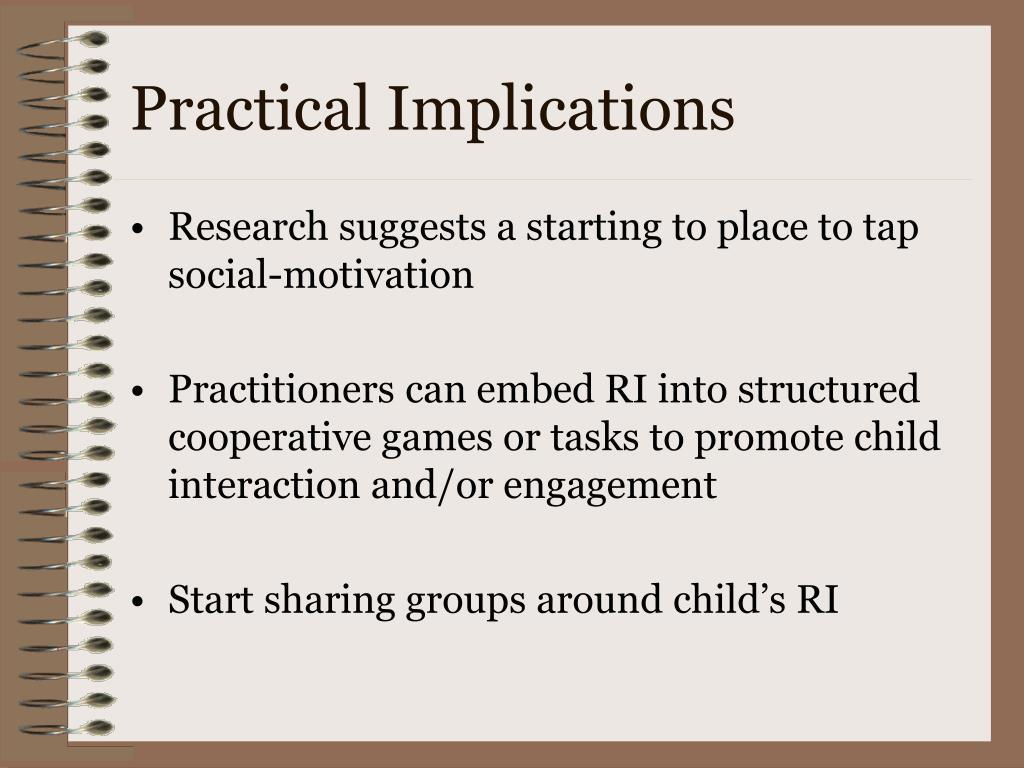 Practical Implications