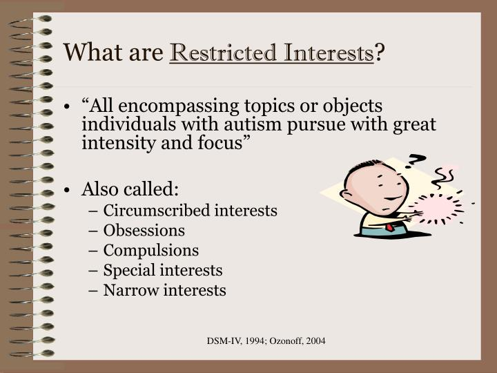 What are restricted interests