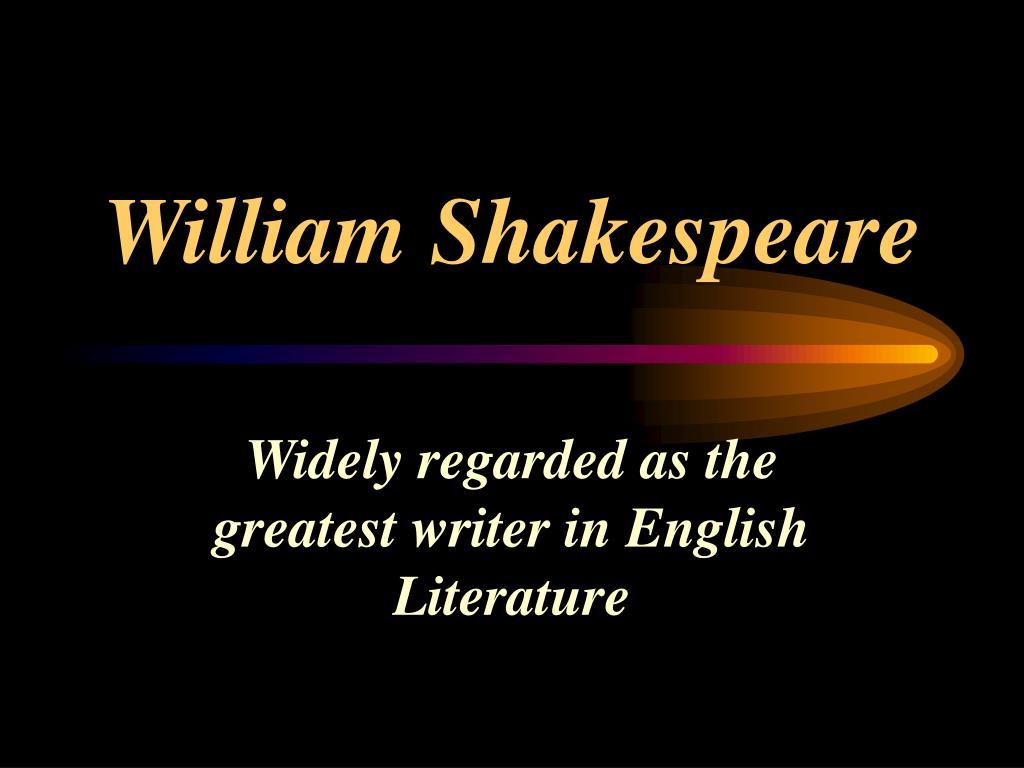 william shakespeare l.