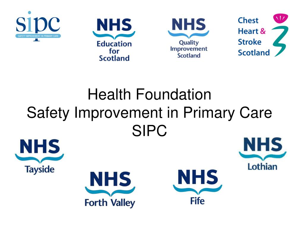 health foundation safety improvement in primary care sipc l.