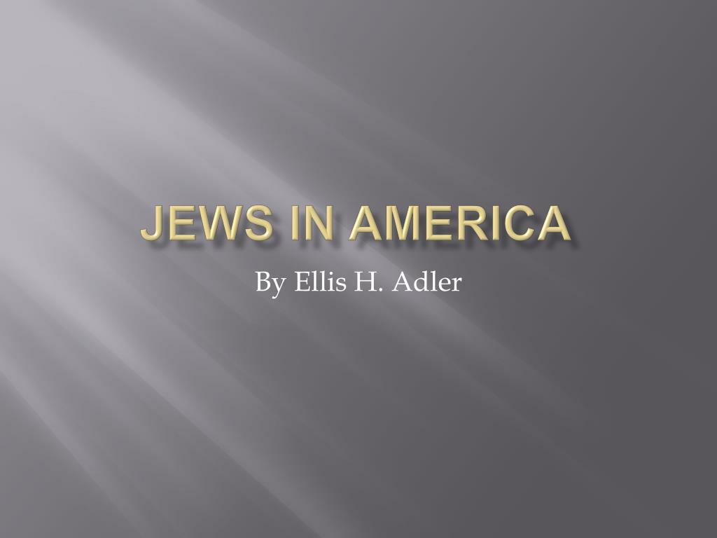 jews in america l.