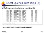select queries with joins 2