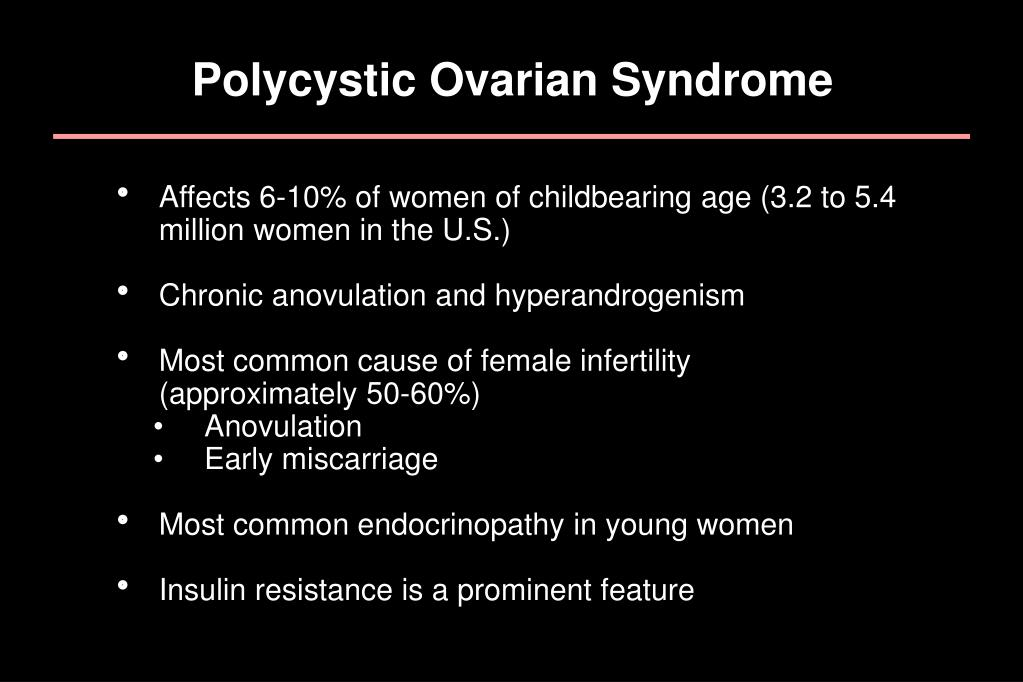 Polycystic Ovarian Syndrome