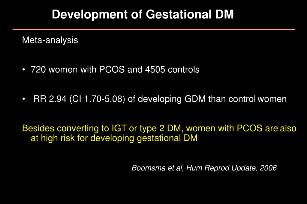 Development of Gestational DM