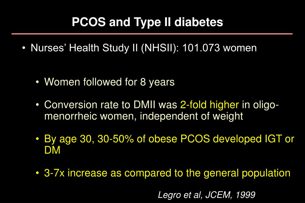 PCOS and Type II diabetes