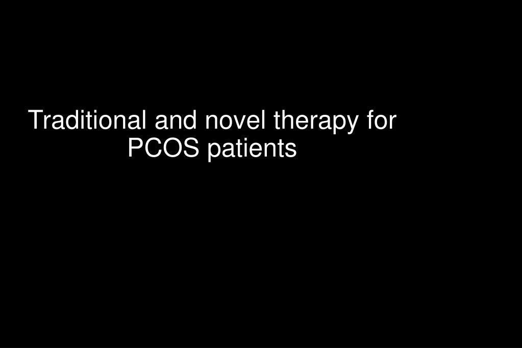 Traditional and novel therapy for