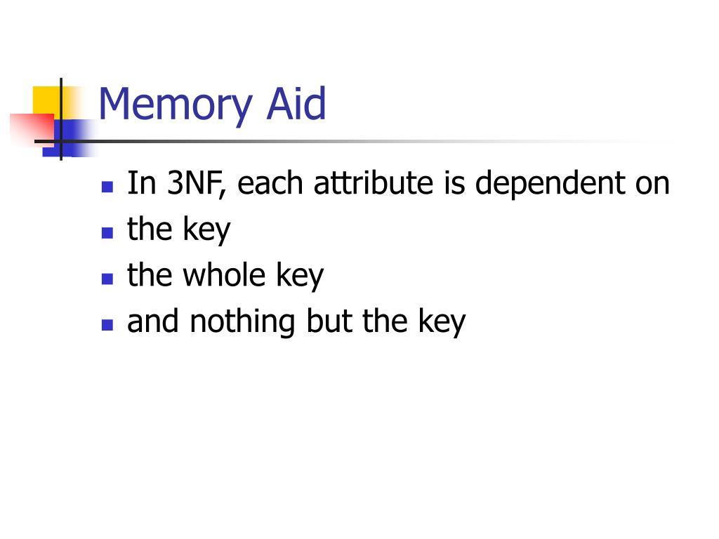 Memory Aid