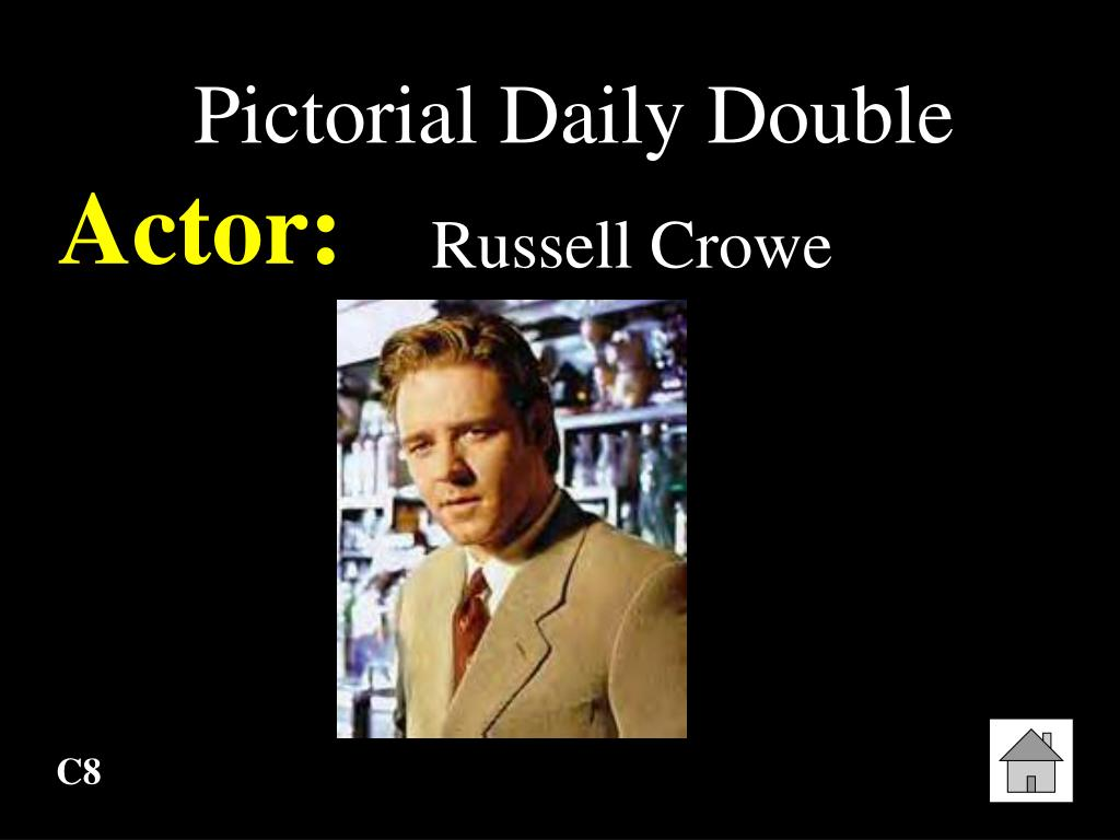 Pictorial Daily Double