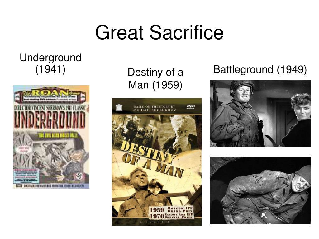 Great Sacrifice